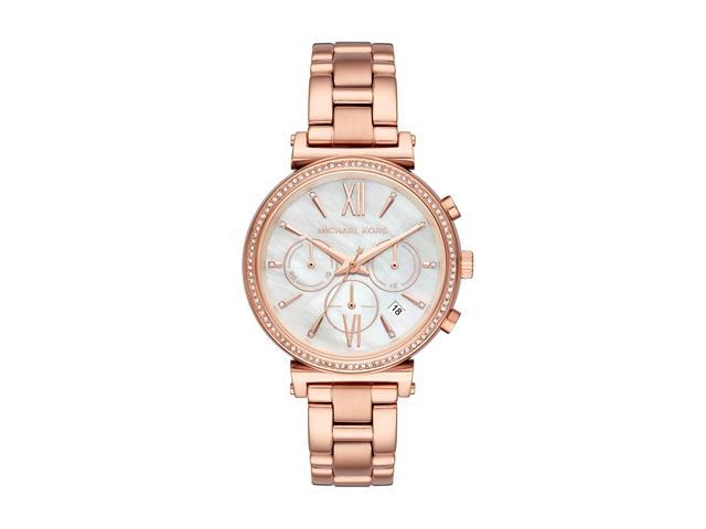 Relógio Michael Kors Feminino MK6576/1JN Rosé Analógico