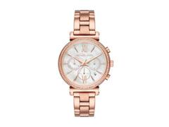 Relógio Michael Kors Feminino MK6576/1JN Rosé Analógico - 0