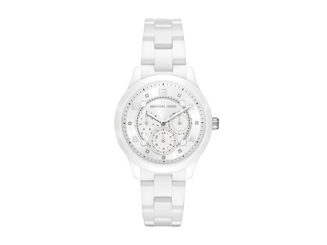 Relógio Michael Kors Feminino MK6617/1BN Branco Analógico