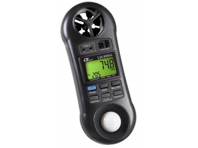 Termo Higroanemômetro Luxímetro Akso LM8000 Digital - 1