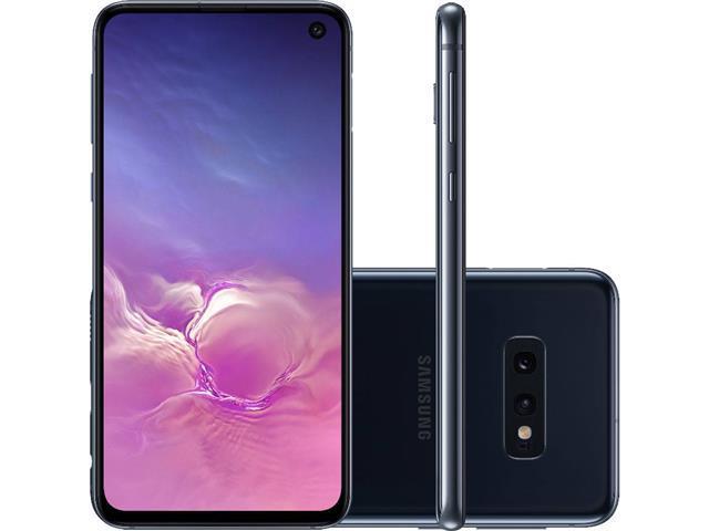 Smartphone Samsung Galaxy S10e 128GB 5,8' Preto+ Relógio Mormaii Fit - 1