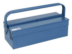 Caixa para Ferramentas Marcon Sanfonada Azul 3 Gavetas - 0