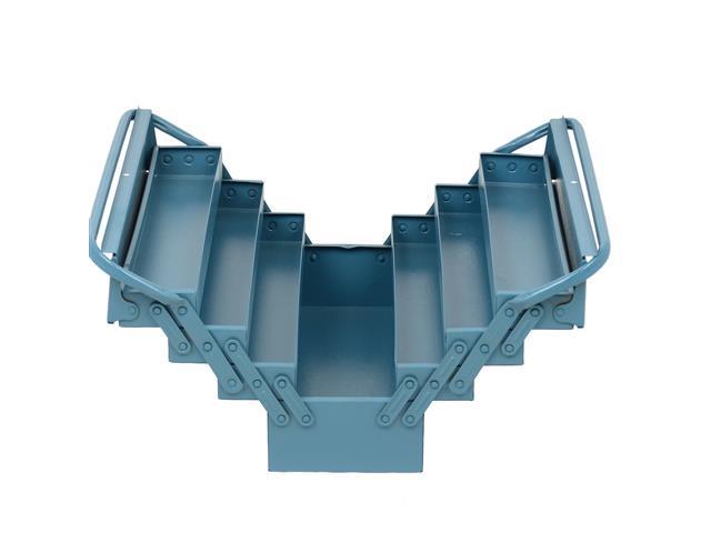 Caixa para Ferramentas Marcon Sanfonada Azul 7 Gavetas