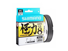 Linha Multifilamento Shimano Kairiki PE 20LB (0.18mm) X 300M Cinza