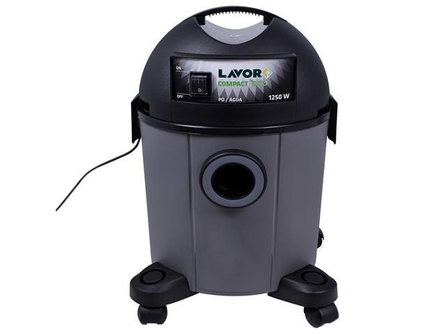Aspirador de Pó Lavorwash Compact Eco Cinza 1250W 12 Litros 220V - 2