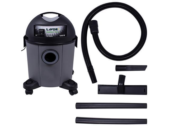 Aspirador de Pó Lavorwash Compact Eco Cinza 1250W 12 Litros 220V