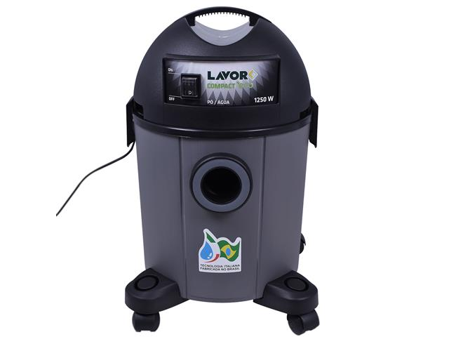Aspirador de Pó Lavorwash Compact Eco Cinza 1250W 22 Litros 220V - 2