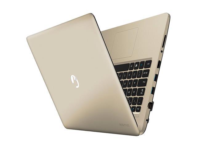 Notebook Positivo Stilo Colors QuadCore 2GB 32GB Tela 14 Win10 Dourado - 4