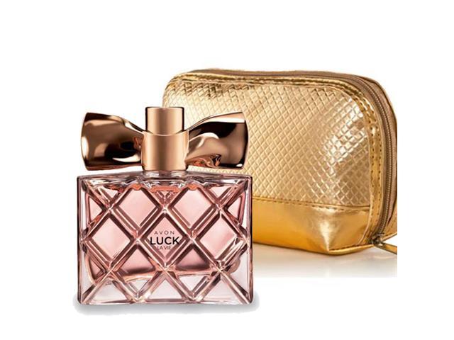 Combo Avon Perfume Luck La Vier 50ml e Necessaire Luck