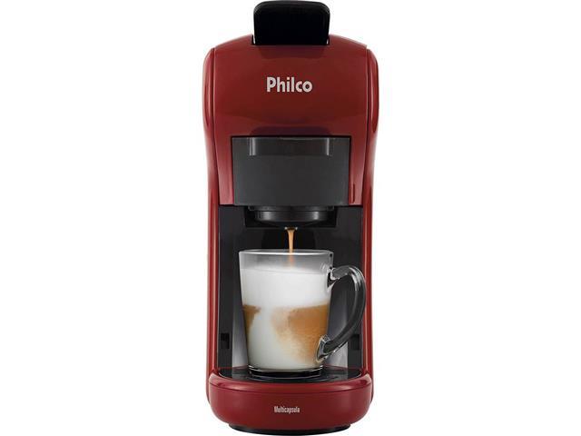 Cafeteira Elétrica Philco Multicapsula PCF19VP Vermelha 110V - 3