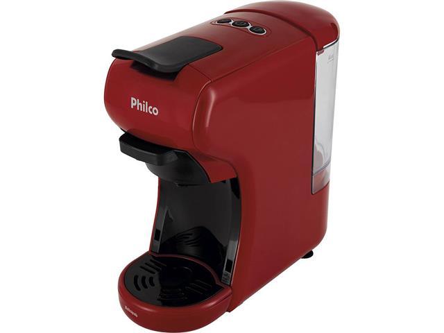 Cafeteira Elétrica Philco Multicapsula PCF19VP Vermelha 110V - 2