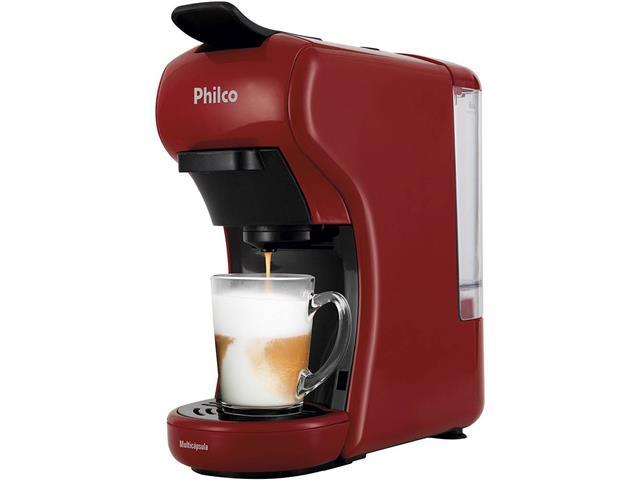 Cafeteira Elétrica Philco Multicapsula PCF19VP Vermelha 220V