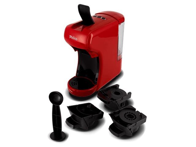 Cafeteira Elétrica Philco Multicapsula PCF19VP Vermelha 220V - 4