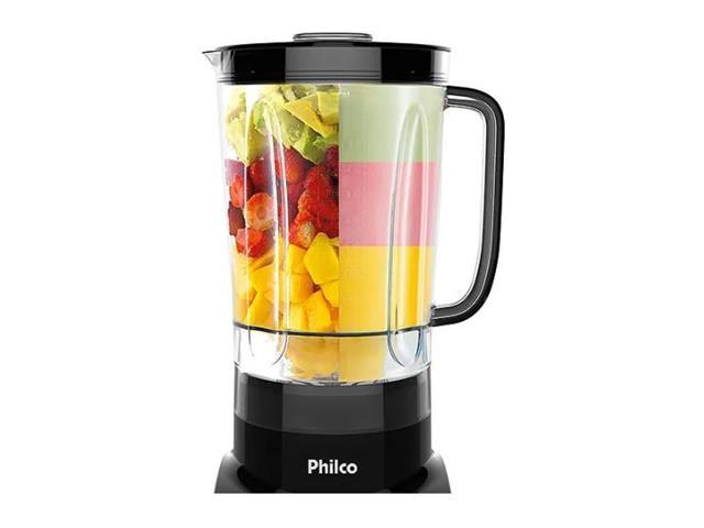 Liquidificador Philco Reverse Spin Premium Preto 1200W 110V - 2