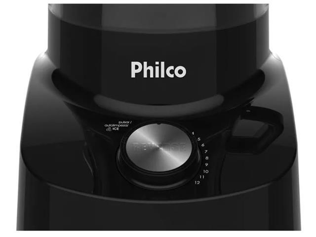 Liquidificador Philco Reverse Spin Premium Preto 1200W 110V - 4