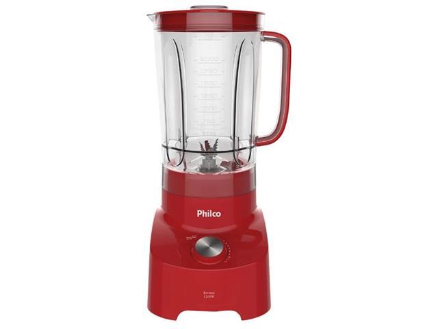 Liquidificador Philco Reverse Spin Premium Vermelho 1200W