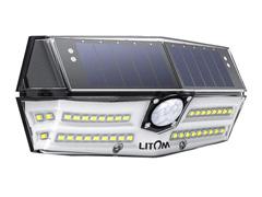 Luminária Litom 40 LED por Energia Solar com Sensor de Movimento - 0