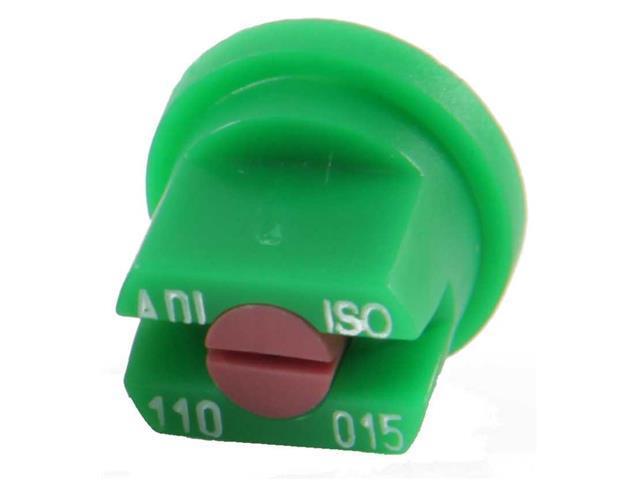 Combo  Bico Pulvorizador Jacto Leque  ADI 110015 Verde 25 unidades - 1