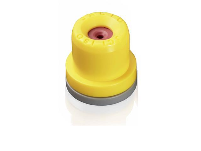 Combo  Bico Pulvorizador Jacto Leque JCI 02 Amarelo 25 unidades - 1