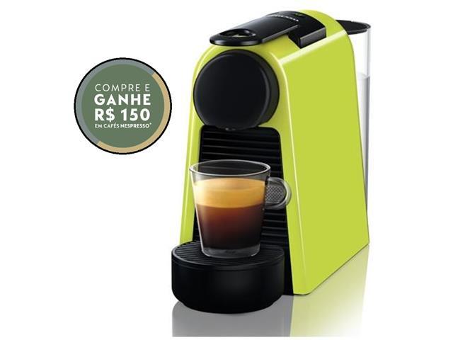 Cafeteira Nespresso Automática Essenza Mini D30 Verde Lima 220V
