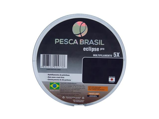 Linha Multifilamento Pesca Brasil Eclipse Pro 0,28 MM Cinza