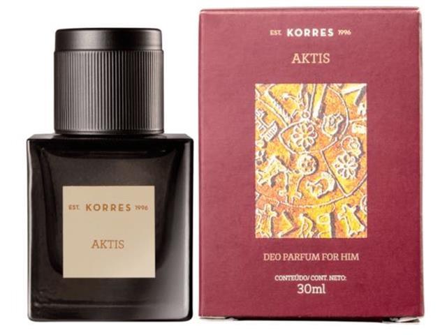Perfume Korres Aktis Deo Parfum Masculino 30ML - 1