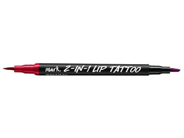 Batom e Delineador Labial 2 em 1 Mark. Lip Tattoo Coral