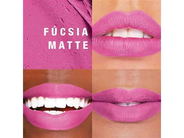 Batom em Pó Mark. Epic Lip Fúcsia Matte 0,5 g - 1