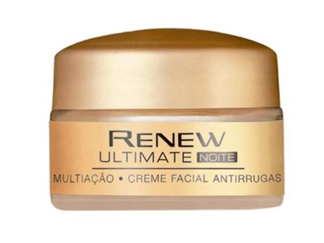 Creme Facial Antirrugas Renew Ultimate Multiação Noite 15g