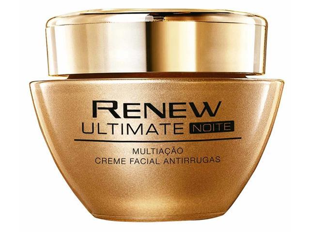 Creme Facial Antirrugas Renew Ultimate Multiação Noite 50g