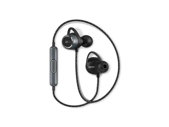 Fone Estéreo Bluetooth In Ear AKG N200 Preto