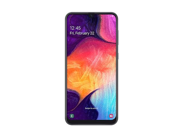 "Smartphone Samsung Galaxy A50 128GB 4G Tela 6.4"" 3 Câm 25+5+8MP Preto - 1"