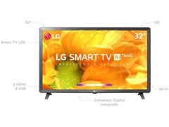 "Smart TV LED 32"" LG HD ThinQ AI TV HDR webOS 4.5 Wi-Fi 3 HDMI 2 USB - 1"