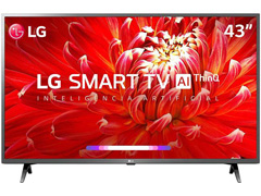 "Smart TV LED 43"" LG Full HD ThinQ AI TV HDR webOS 4.5 Wi-Fi 3HDMI 2USB - 0"