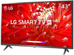 "Smart TV LED 43"" LG Full HD ThinQ AI TV HDR webOS 4.5 Wi-Fi 3HDMI 2USB - 2"