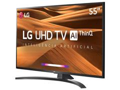 """Smart TV LED 55"""" LG UHD 4K ThinQ AI TV HDR Ativo webOS 4.5 4 HDMI 2USB - 4"""