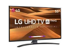 """Smart TV LED 55"""" LG UHD 4K ThinQ AI TV HDR Ativo webOS 4.5 4 HDMI 2USB - 1"""