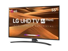 """Smart TV LED 55"""" LG UHD 4K ThinQ AI TV HDR Ativo webOS 4.5 4 HDMI 2USB - 3"""