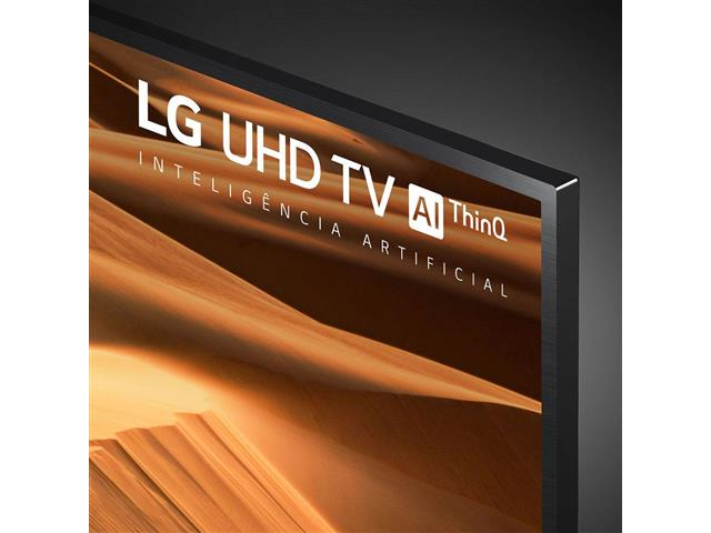 "Smart TV LED 55"" LG UHD 4K ThinQ AI TV HDR Ativo webOS 4.5 4 HDMI 2USB - 6"
