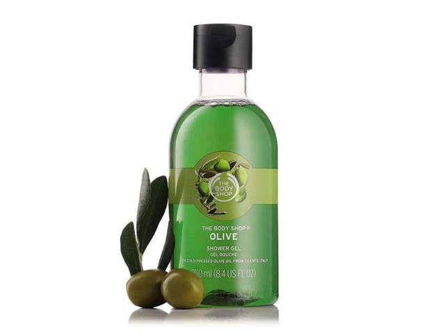 Gel de Limpeza Corporal The Body Shop Oliva 250ML - 1
