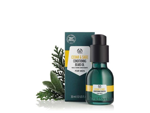 Óleo de Barbear The Body Shop Cedro e Sálvia 30ML - 2