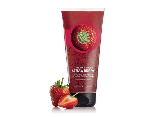 Esfoliante em Gel The Body Shop Morango 200ML - 1