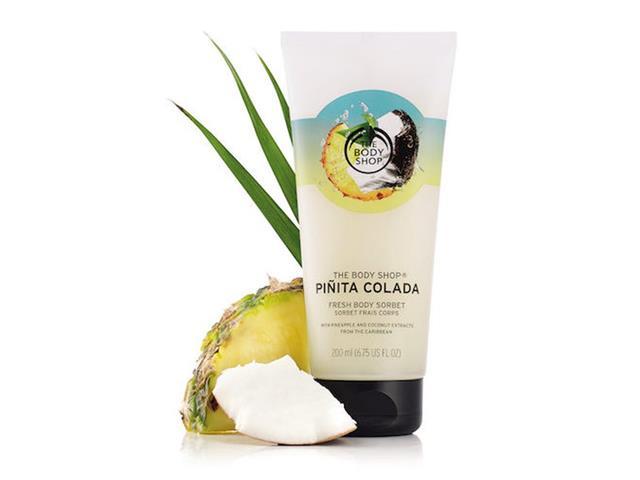 Hidratante Corporal The Body Shop Sorbet Piñita Colada 200ML - 1