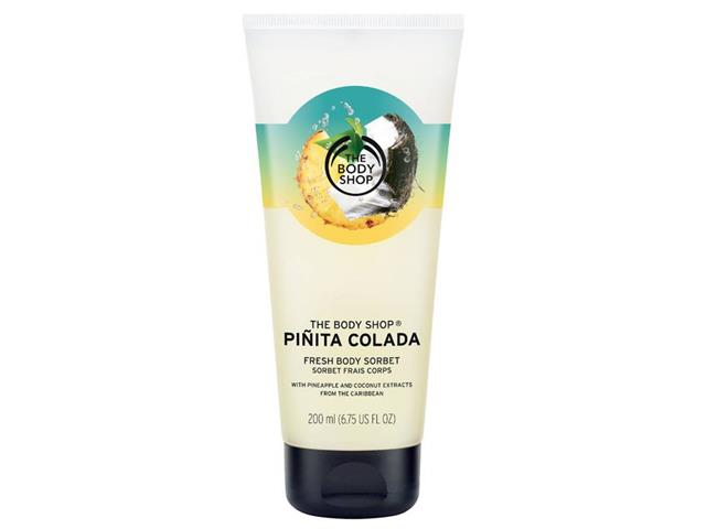 Hidratante Corporal The Body Shop Sorbet Piñita Colada 200ML