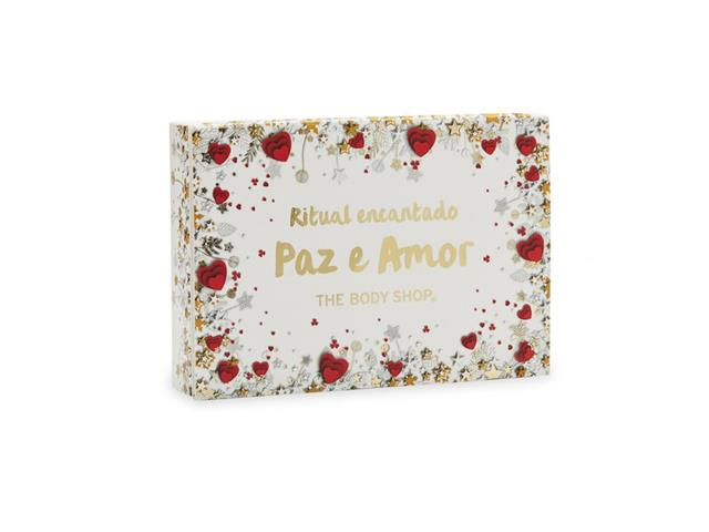 Sabonetes The Body Shop Ritual Encantado Paz e Amor 75G