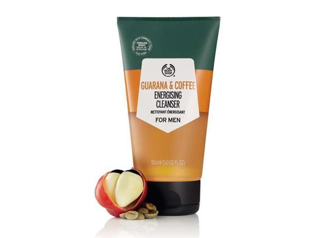 Gel de Limpeza Facial The Body Shop Guaraná e Café 150ML - 1