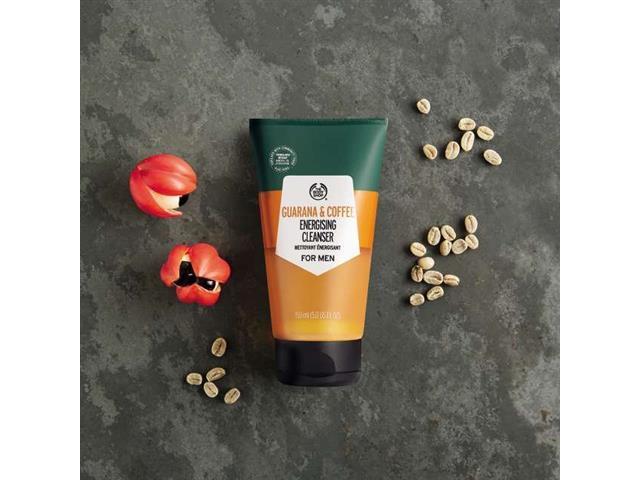 Gel de Limpeza Facial The Body Shop Guaraná e Café 150ML - 2