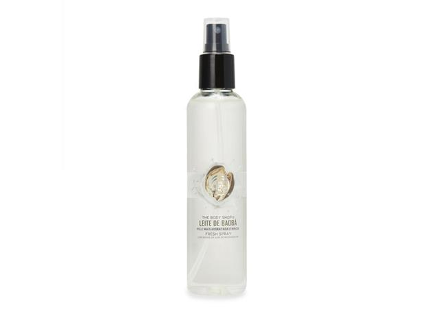 Desodorante Corporal The Body Shop Fresh Spray Leite de Baobá 200ML