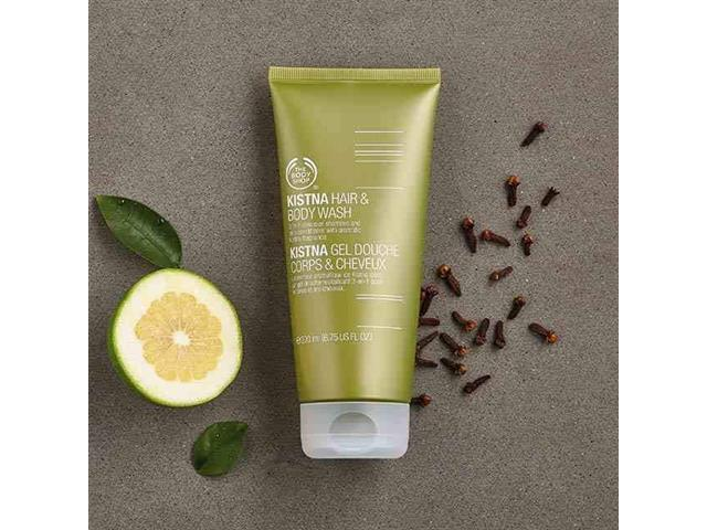 Gel para Corpo e Cabelo The Body Shop Kistna 200ML - 2
