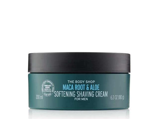 Creme de Barbear The Body Shop Maca Root e Aloe Vera 200ML - 2